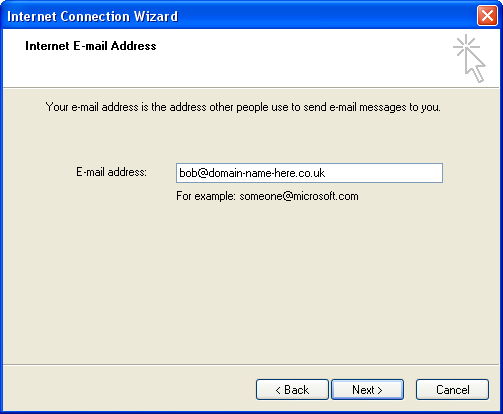 Outlook Express settings